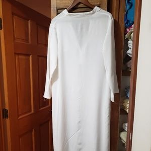 White Shirt style cover up